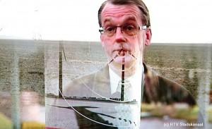 Jan Nieboer vecht tegen de windmolens (F: RTVS)